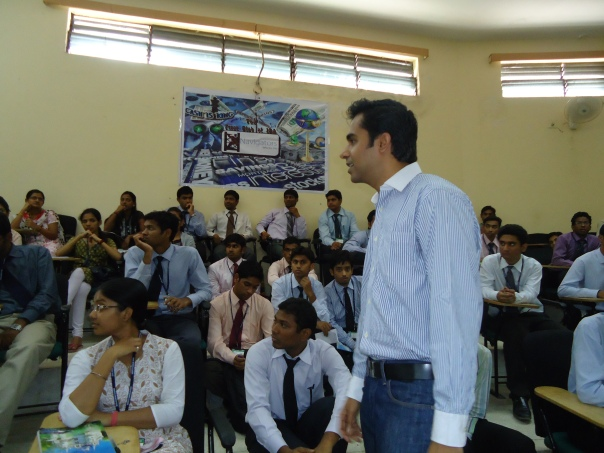 Guest Lecture by Mr. Naveen Mutnal of batch 2007-09